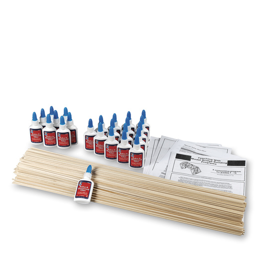Model Bridge Classroom STEM Pack - Balsa
