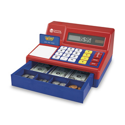 Learning Resources® Pretend & Play® Calculator Cash Register