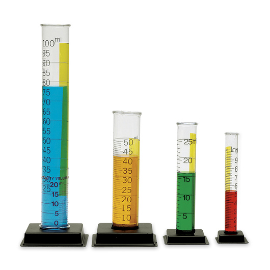 6 Laboratory Graduated Cylinder Starter Sets