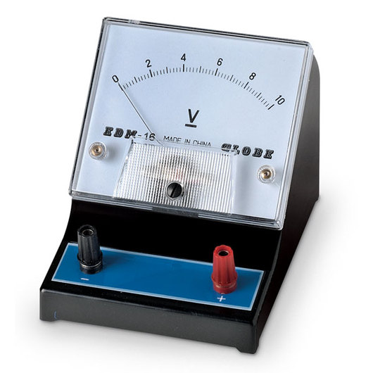 Ammeter For Science : Nasco student meter range v single scale with dc