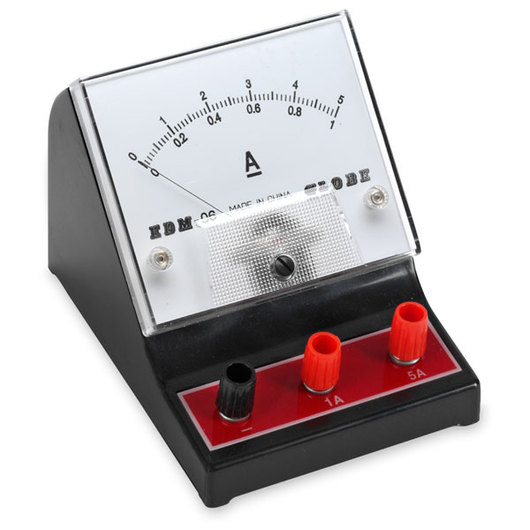 Ammeter For Science : Nasco student meter range a double scale with