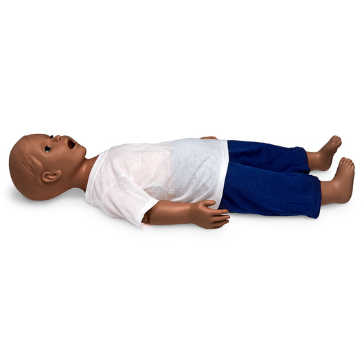 Gaumard® Mike® and Michelle® Pediatric Care Simulator - 1-Year-Old - 32 in. L - Dark