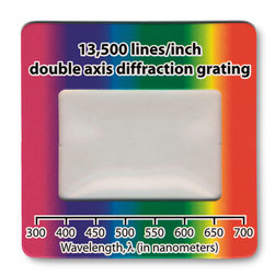 Replica Diffraction Grating Slides