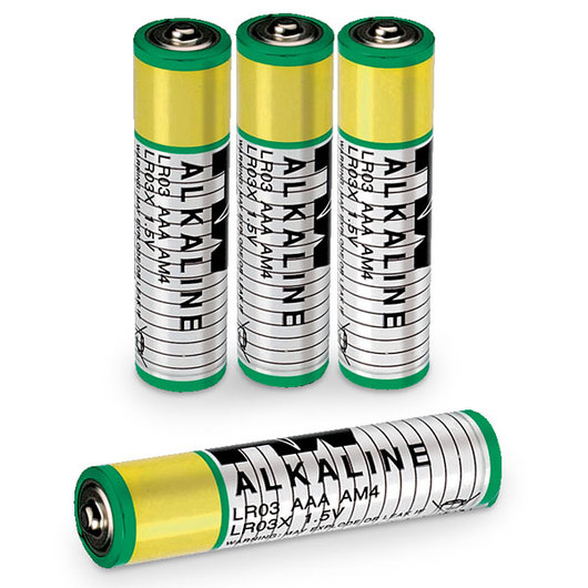 Size AAA - 1.5-Volt Plus Batteries