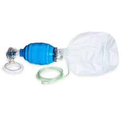 Adult Disposable Resuscitator with Reservoir Bag