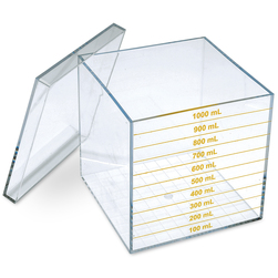 Liter Cube with Lid
