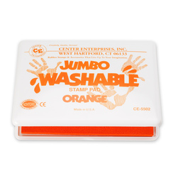 Jumbo Washable Stamp Pad - Yellow - 4-1/8 in. x 6-1/4 in.