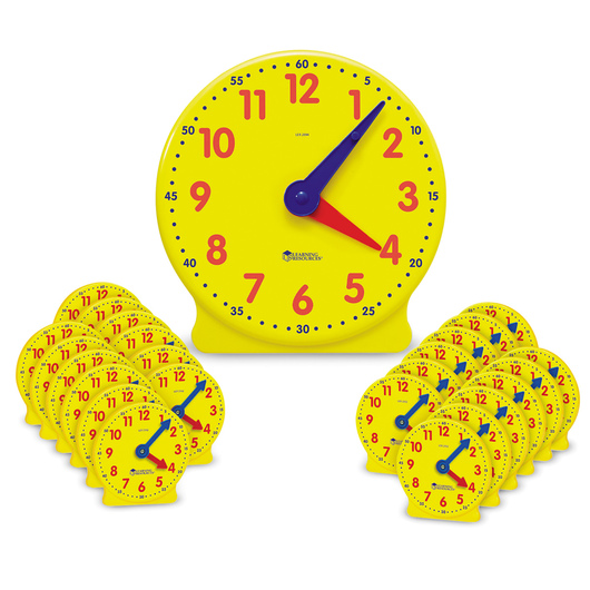 Big Time™ Learning Classroom Clock Kit