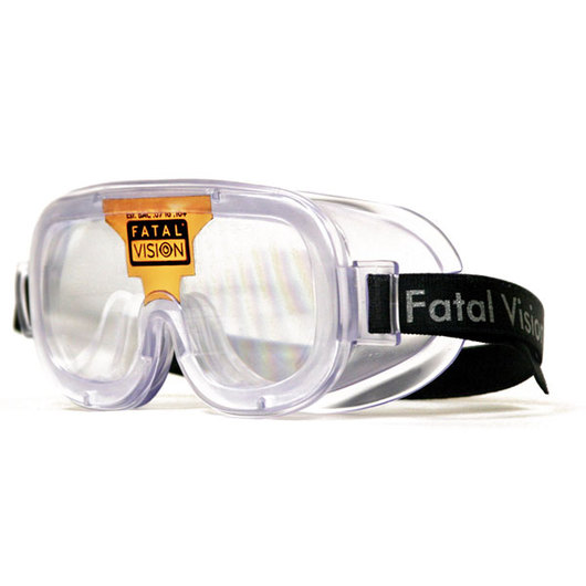 Fatal Vision® Bronze Label Clear Goggles