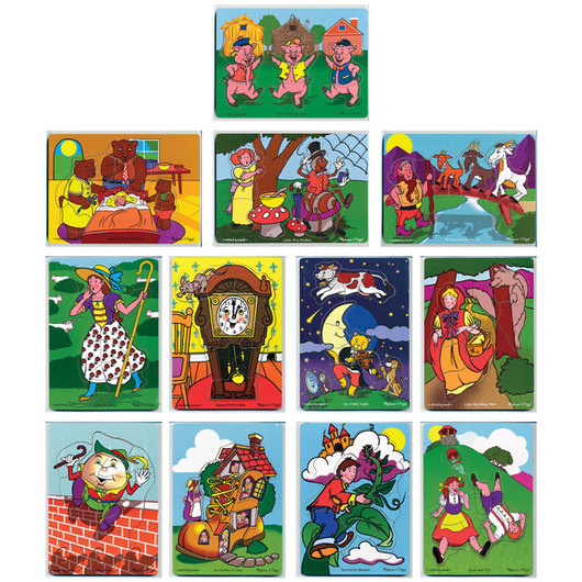 Fairy Tales & Nursery Rhymes Puzzle Set