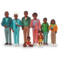 Pretend Play Family, African-American