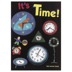 Early Math Big Book - It's Time!