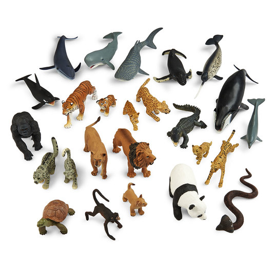 Complete Set of Wild Safari™ Animals