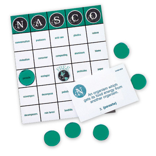 Nasco Environmental Bingo Game