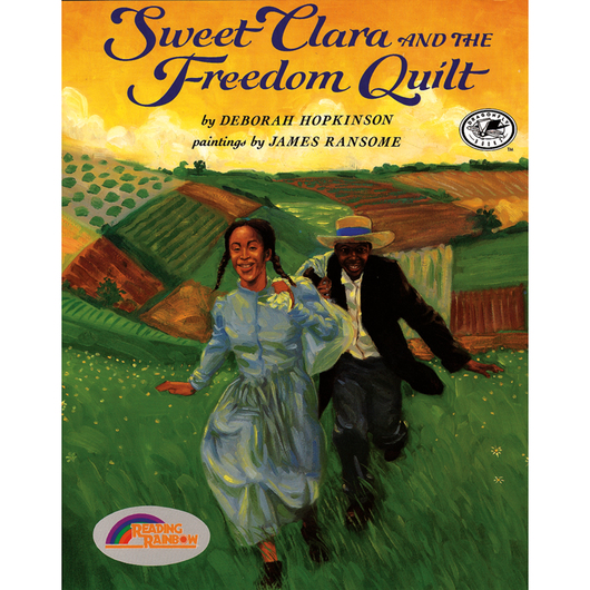 Sweet Clara and the Freedom Quilt | Book & CD Sets | Teacher ... : the freedom quilt - Adamdwight.com