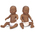 Newborn Baby Dolls - Black Baby Boy and Girl