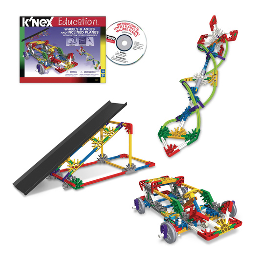 K'NEX® Education Intro to Simple Machines: Wheels, Axles, and Inclined Planes Set