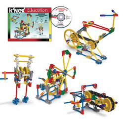 K'NEX® Education Intro to Simple Machines: Gears Set