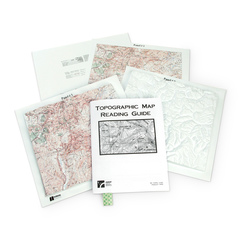 Topographic Map Reading Kit