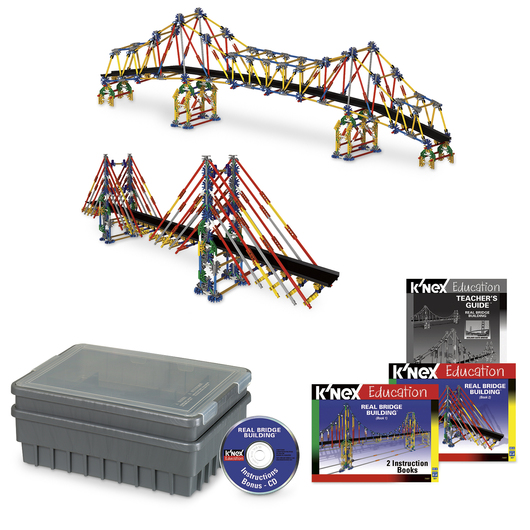 K Nex Education Real Bridge Building Set Force Motion Physical Science Science Education Supplies Nasco
