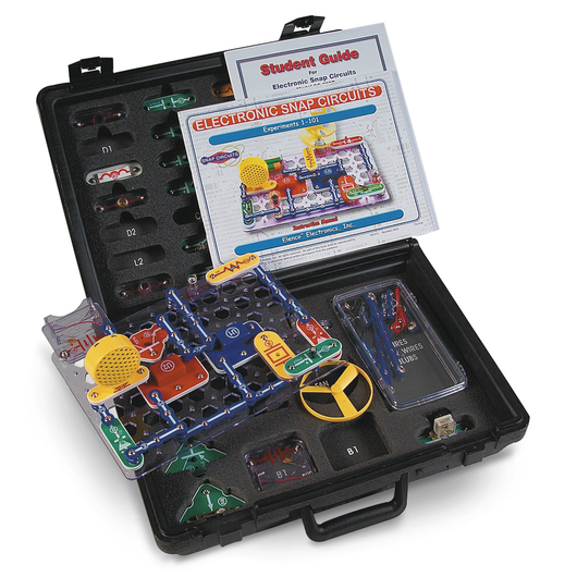 Snap Circuits® Classic 300-Experiment Educational Kit w/Hard Case