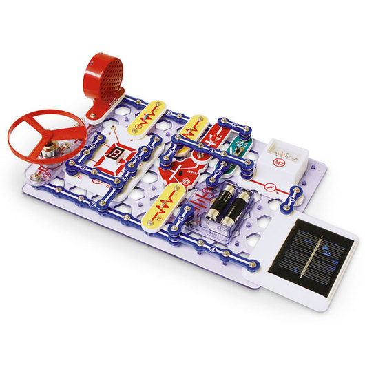 Snap Circuits® 500-Experiment Set w/Hard Case