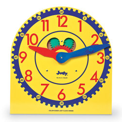 Judy Clock, Color Coded