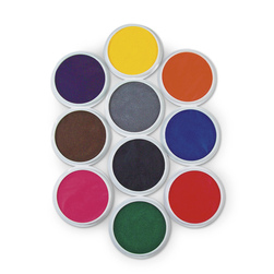 Jumbo Washable Circular Ink Pads - Primary Set of 10