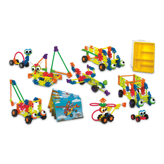 K'NEX® Kid Education Transportation Set - 229 Pieces