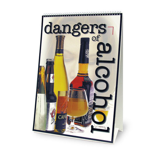 Dangers of Alcohol Flip Chart - 17 in.x 22 in.