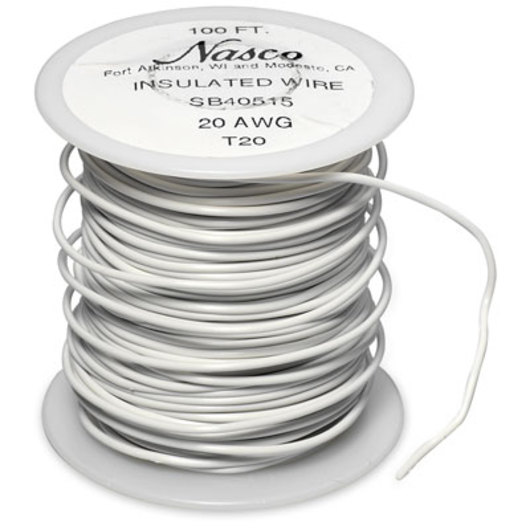 20-Gauge PVC-Covered Copper Connecting Wire
