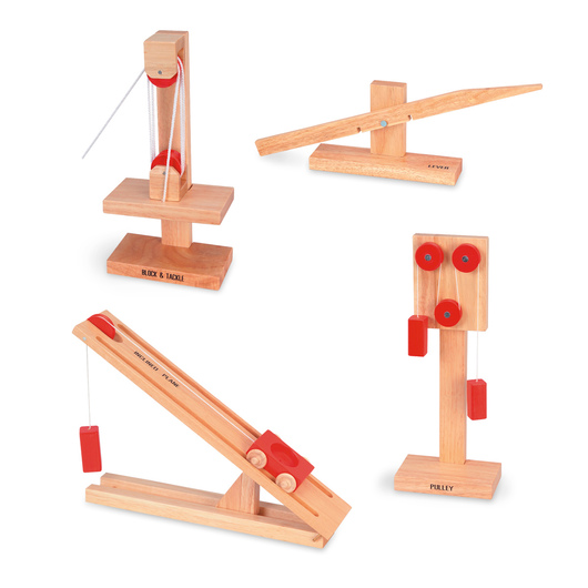 Wooden Simple Machines Student Set #1