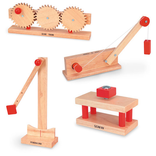 Wooden Simple Machines Student Set #2