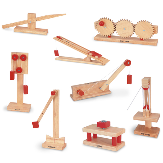 Wooden Simple Machines Complete Student Set
