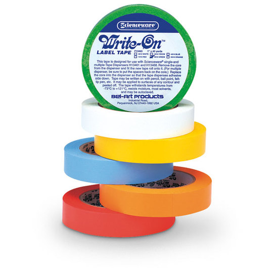 Scienceware® Write-On™ Label Tapes