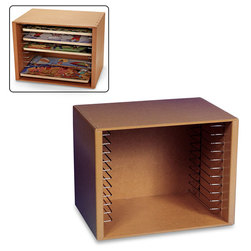 Nasco Natural Wood Puzzle Case