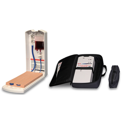 Advanced Four-Vein Venipuncture Training Aid and Carrying Case