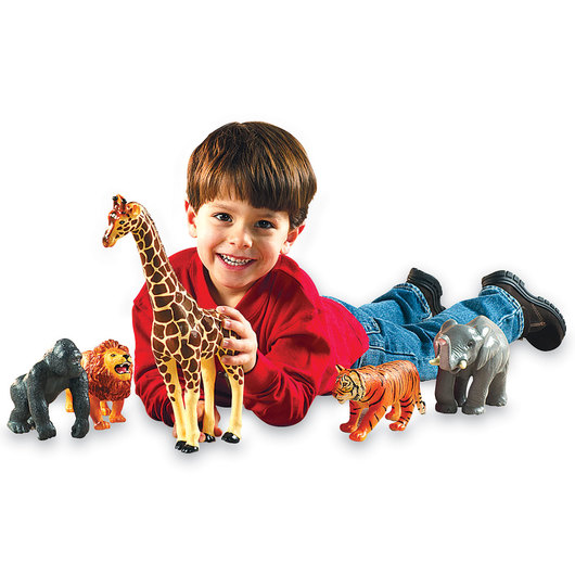 Learning Resources® Jumbo Jungle Animals - Set of 5