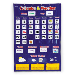 Calendar/Weather Pocket Chart