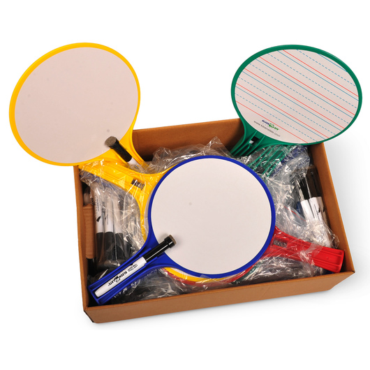 KleenSlate® Round Dry-Erase Whiteboards