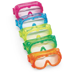 Elementary Splash Goggles - Set of 5 - 6 in.