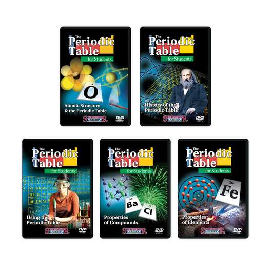 The Periodic Table for Students DVD Series