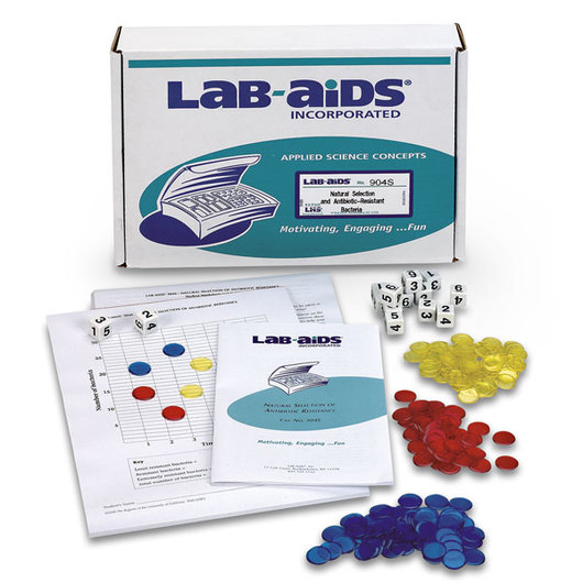 LAB-AIDS® Natural Selection and Antibiotic-Resistant Bacteria Kit