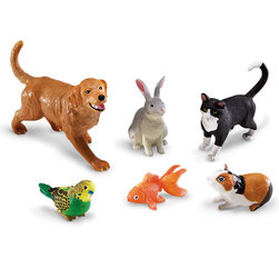 Jumbo Animals Set, Pets