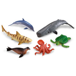 Jumbo Animals Set, Ocean