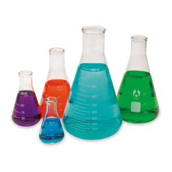 Erlenmeyer Economy Flask, Narrow Mouth - Set of 5