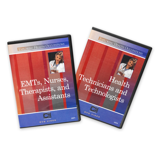 Exploring Health Occupations - Set of 2 DVDs