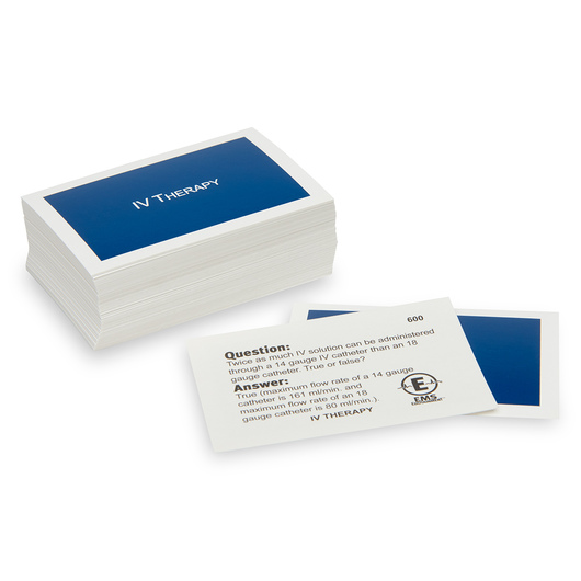 EMS CHALLENGE™ Supplemental Cards - Intravenous Therapy