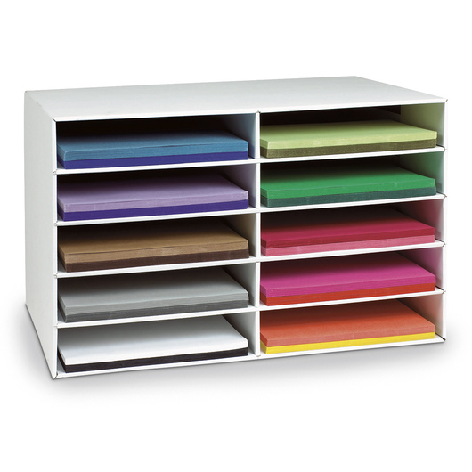 Pacon® Classroom Keepers® Construction Paper Storage