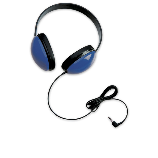 Califone® 2800-BL Listening First™ Stereo Headphones - Blue